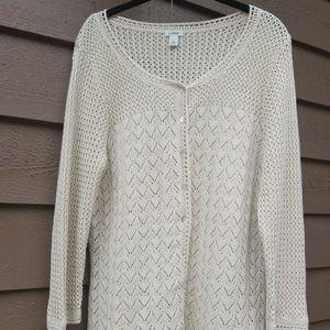 L.L. bean silk blend sweater